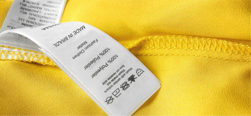 Desvendando a etiqueta de composição das roupas